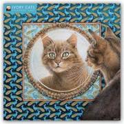 Cover-Bild zu Ivory Cats - Lesley Anne Ivorys Katzen 2022