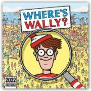 Cover-Bild zu Where's Wally 2022 - Wo ist Walter? - Wand-Kalender