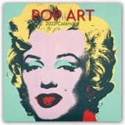Cover-Bild zu Pop Art Kalender 2022 - 16-Monatskalender