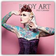 Cover-Bild zu Body Art - Körperkunst 2022 - 16-Monatskalender