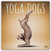 Cover-Bild zu Yoga Dogs - Joga-Hunde 2022 - 18-Monatskalender