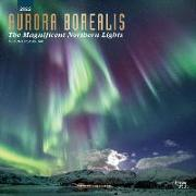 Cover-Bild zu Aurora Borealis: The Magnificent Northern Lights - Nordlicht 2022 - 18-Monatskalender