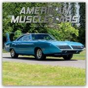 Cover-Bild zu American Muscle Cars - Amerikanische Muscle-Cars 2022 - 18-Monatskalender