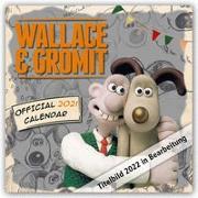 Cover-Bild zu Wallace & Gromit 2022 - Wandkalender
