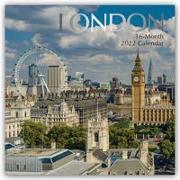 Cover-Bild zu London 2022 - 16-Monatskalender