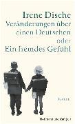 Cover-Bild zu Veränderungen über einen Deutschen oder Ein fremdes Gefühl (eBook) von Dische, Irene