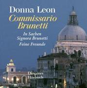 Cover-Bild zu Zwei Fälle für Commissario Brunetti von Leon, Donna