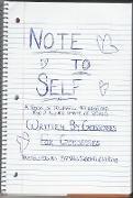 Cover-Bild zu Note to Self (eBook) von Omid, Eirian Naomi