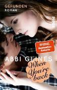 Cover-Bild zu When You're Back - Gefunden von Glines, Abbi