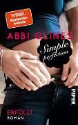 Cover-Bild zu Simple Perfection - Erfüllt von Glines, Abbi