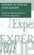 Cover-Bild zu Experts in Science and Society von Kurz-Milcke, Elke (Hrsg.)