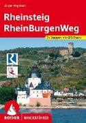 Cover-Bild zu Rheinsteig - RheinBurgenWeg von Plogmann, Jürgen