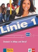 Cover-Bild zu Linie 1 B1.1. Kurs- und Übungsbuch mit DVD-ROM von Dengler, Stefanie