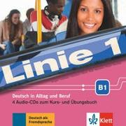 Cover-Bild zu Linie 1 B1. 4 Audio-CDs zum Kurs- und Übungsbuch von Dengler, Stefanie