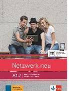 Cover-Bild zu Netzwerk neu A1.2. Kurs- und Übungsbuch mit Audios und Videos von Dengler, Stefanie