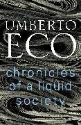 Cover-Bild zu Chronicles of a Liquid Society (eBook) von Eco, Umberto