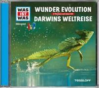 Cover-Bild zu WAS IST WAS Hörspiel: Wunder Evolution/ Darwins Weltreise von Baur, Dr. Manfred