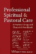 Cover-Bild zu Professional Spiritual & Pastoral Care von Anderson, Nancy K. (Beitr.)