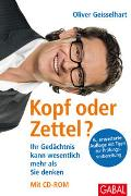 Cover-Bild zu Kopf oder Zettel? Mit CD-ROM von Geisselhart, Oliver