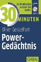 Cover-Bild zu 30 Minuten Power-Gedächtnis von Geisselhart, Oliver