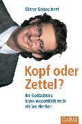 Cover-Bild zu Kopf oder Zettel (eBook) von Geisselhart, Oliver