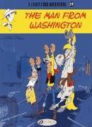 Cover-Bild zu The Man from Washington von Gerra, Laurent