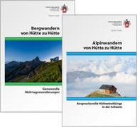 Cover-Bild zu Kombipaket Bergwandern und Alpinwandern von Hütte zu Hütte von SAC (Hrsg.)