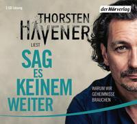 Cover-Bild zu Sag es keinem weiter von Havener, Thorsten