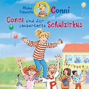 Cover-Bild zu Conni und der zauberhafte Schulzirkus (Audio Download) von Boehme, Julia