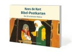 Cover-Bild zu Kees de Kort Bibel-Postkarten von de Kort, Kees (Illustr.)