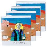 Cover-Bild zu David wird König (4er-Pack) von de Kort, Kees (Illustr.)