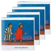 Cover-Bild zu Jesus ist geboren (4er-Pack) von de Kort, Kees (Illustr.)