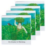 Cover-Bild zu Die Arbeiter im Weinberg (4er-Pack) von de Kort, Kees (Illustr.)