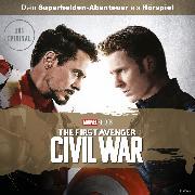 Cover-Bild zu Captain America Hörspiel: The first Avenger Civil War (Dein Marvel Superhelden-Abenteuer) (Audio Download) von Bingenheimer, Gabriele