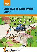 Cover-Bild zu Mathe auf dem Bauernhof 1. Klasse (eBook) von Hauschka-Bohmann, Ingrid