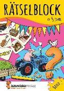 Cover-Bild zu Rätselblock ab 5 Jahre, Band 2, A5-Block von Maier, Ulrike