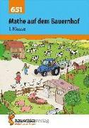 Cover-Bild zu Mathe auf dem Bauernhof 1. Klasse von Hauschka-Bohmann, Ingrid