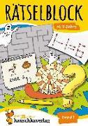 Cover-Bild zu Rätselblock ab 8 Jahre, Band 1, A5-Block von Agnes Spiecker