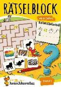 Cover-Bild zu Rätselblock ab 6 Jahre, Band 1, A5-Block von Agnes Spiecker