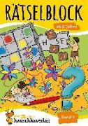 Cover-Bild zu Rätselblock ab 6 Jahre, Band 2, A5-Block von Spiecker, Agnes