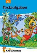 Cover-Bild zu Textaufgaben 2. Klasse von Hünemann-Rottstegge, Heike