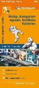 Cover-Bild zu Michelin Molise, Kampanien, Apulien, Basilikata, Kalabrien. Straßen- und Tourismuskarte 1:400.000. 1:400'000