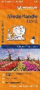 Cover-Bild zu Michelin Niederlande Nord. Straßen- und Tourismuskarte 1:200.000. 1:200'000