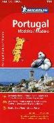 Cover-Bild zu Michelin Portugal Madeira 1 : 400 000 von Michelin (Hrsg.)