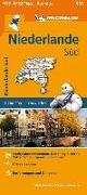 Cover-Bild zu Michelin Niederlande Süd. Straßen- und Tourismuskarte 1:200.000. 1:200'000