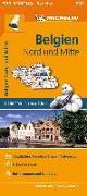 Cover-Bild zu Michelin Belgien Nord und Mitte. 1:200.000. 1:200'000