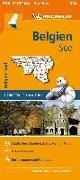 Cover-Bild zu Michelin Belgien Süd. Straßen- und Tourismuskarte 1:200.000. 1:200'000