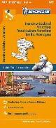 Cover-Bild zu Michelin Trentino-Südtirol,Venetien, Friaul-Julisch Venetien, Emilia Romagna. Straßen- und Tourismuskarte 1:400.000. 1:400'000