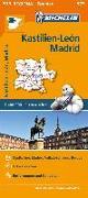 Cover-Bild zu Michelin Kastilien-León, Madrid. Straßen- und Tourismuskarte 1:400.000. 1:400'000