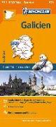 Cover-Bild zu Michelin Galicien. Straßen- und Tourismuskarte 1:400.000. 1:400'000